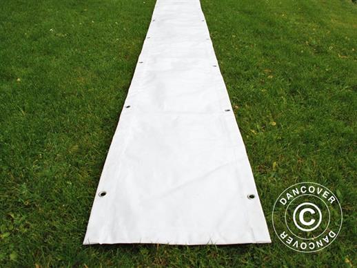 Raingutter 10 m PVC for Marquees