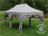 "Tente Pliante FleXtents PRO ""Raj"" 3x6m Latte/Orange - 1"