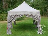 "Tente Pliante FleXtents PRO ""Raj"" 3x6m Latte/Orange - 7"