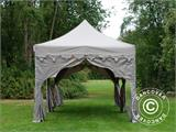 "Tente Pliante FleXtents PRO ""Raj"" 3x6m Latte/Orange - 9"