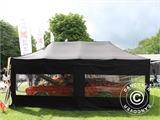 "Tente Pliante FleXtents PRO ""Raj"" 3x6m Latte/Orange - 79"