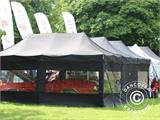 "Tente Pliante FleXtents PRO ""Raj"" 3x6m Latte/Orange - 82"
