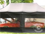 "Tente Pliante FleXtents PRO ""Raj"" 3x6m Latte/Orange - 93"