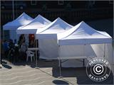 "Tente Pliante FleXtents PRO ""Raj"" 3x6m Latte/Orange - 6"