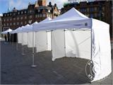 "Tente Pliante FleXtents PRO ""Raj"" 3x6m Latte/Orange - 60"