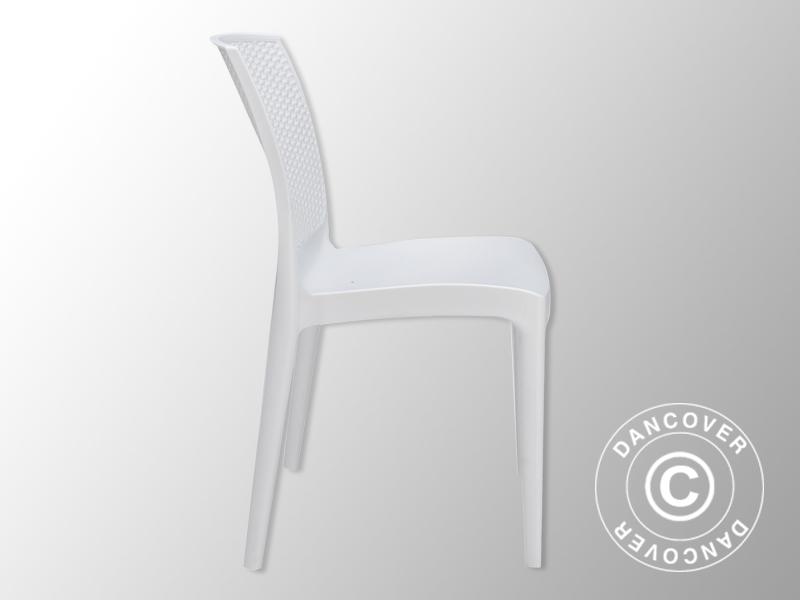 6 Witte Design Stoelen.Stoel Boheme Wit 6 Stuks Partytent Com Worldwide